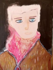 La dame au foulard dans Portraits 169-francoise-225x300